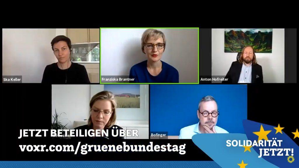 Video Talk der Grünen